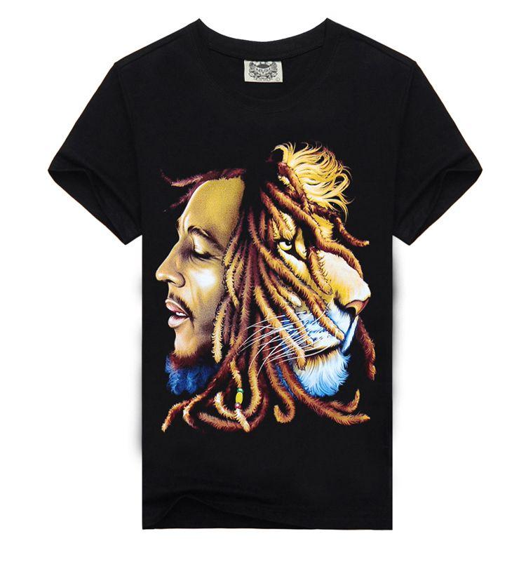 Groshandel Bob Marley Quotes T Shirt Musik Reggae Rastafari Manner Hohe Qualitat T Shirt Kleid Camisetas Camisa Kleidung T Shirt Von Tastall   Auf De