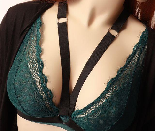 2019 Women Black Soft Bondage Body Harness Sexy Chest Through Bra Elastic Adjust Strap Tops Fetish Lingerie Cage Bra From Jiangzhutian 1 89 Dhgate Com