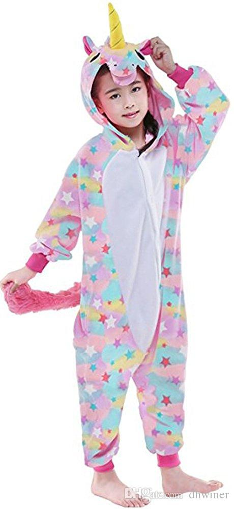 Image of: Totoro Onesie Package Costume no Shoes Children Pajamas Kigurumi Soft Flannel Cosplay Animal Onesies Dhgatecom Children Pajamas Kigurumi Soft Flannel Cosplay Animal Onesies