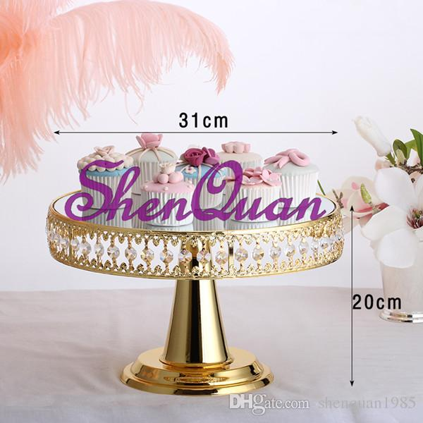 2018 Metal Round Wedding Cake Stand For Wedding Table Decorations     2018 Metal Round Wedding Cake Stand For Wedding Table Decorations Shiny  Silver Cake Holder In Wedding Party Favor From Shenquan1985   561 41    Dhgate Com
