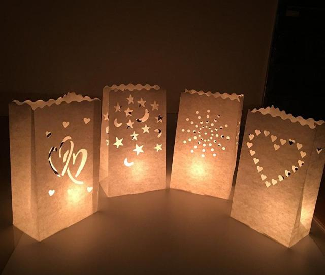 Creative Paper Candle Bags Christmas Wedding Party Table Centrepiece Candles Holder Diy Manual Hollow Out Lantern Decoration  Zb Yy Scooby Doo Party