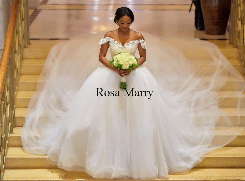 Bellanaija African Ball Gown Wedding Dresses 2018 Plus