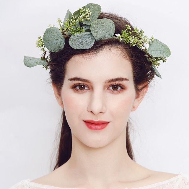 wonderful big wedding flower tiara for crown handmade for girls accessories