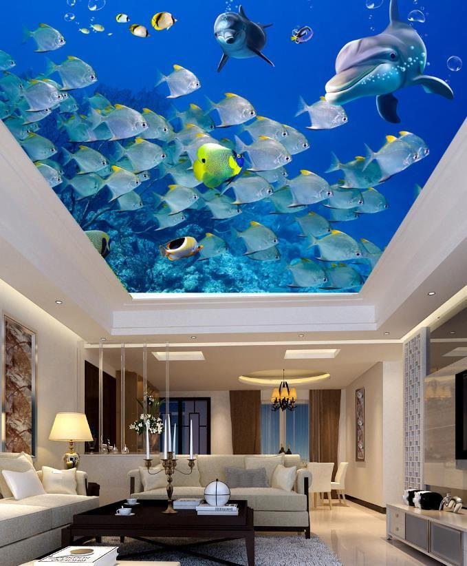 3d Ceiling Wallpaper For Bedroom Walls Custom Pattern 3d Wallpaper Walls 3d Ceiling Home Improvement Wallpaper From Yeyueman6666 10 19 Dhgate Com