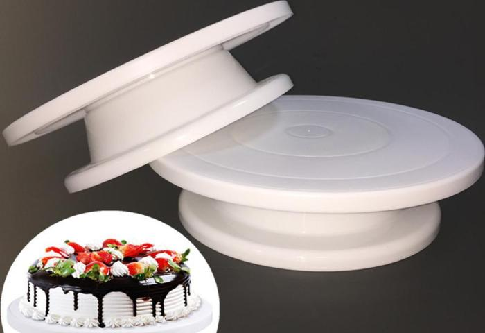 2019 Cake Base Cake Decorating Tools Rotating Cake Stand Sugar Craft