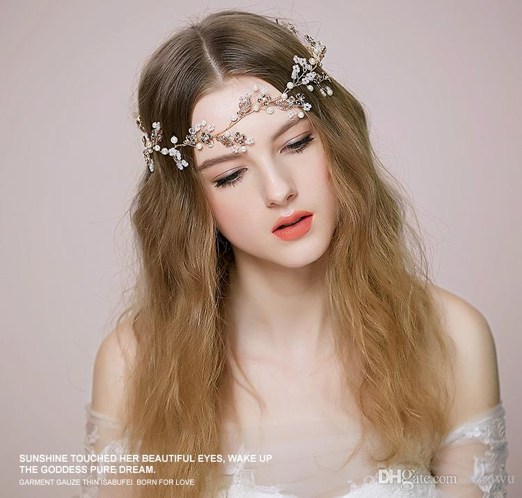 unique romantic handmade bridal hair accessories head bands new style 2015 garden wedding bridal accessories headbands