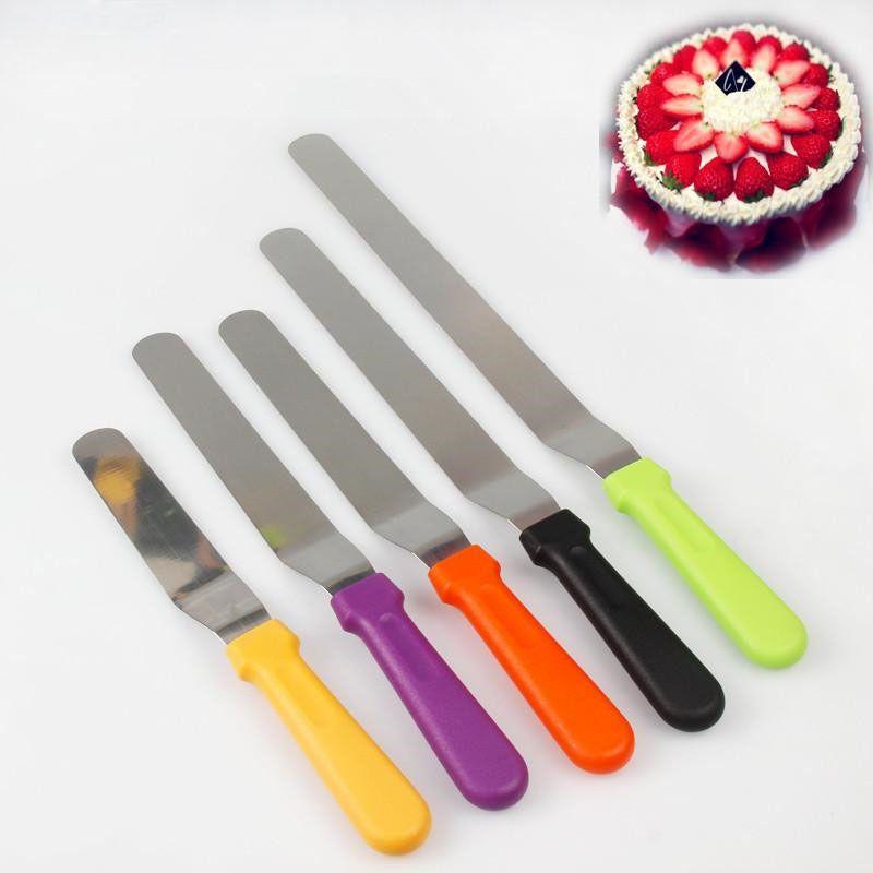 acheter bist en acier inoxydable beurre gateau creme couteau spatule pour gateau plus lisse glacage glacage spreader decoration patisserie outils de cuisson de 18 68 du ok767 dhgate com