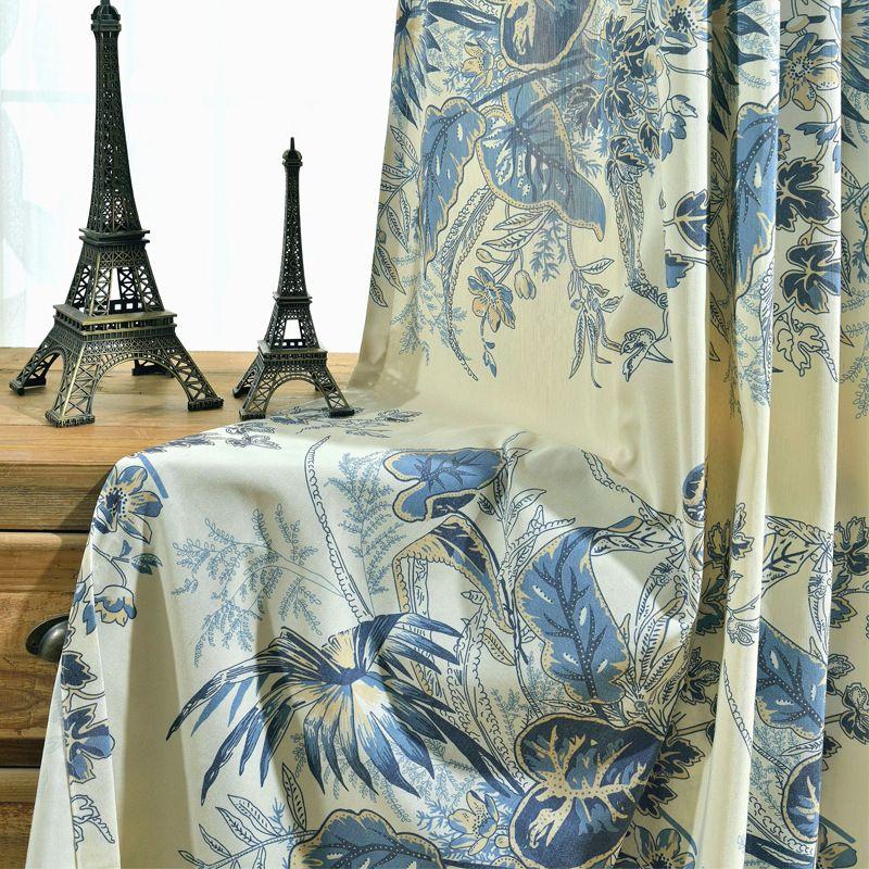 acheter americain de luxe floral rideau de blackout pour salon chambre cuisine pastorale imprime motif brapes fenetre traitements stores de 5 43 du