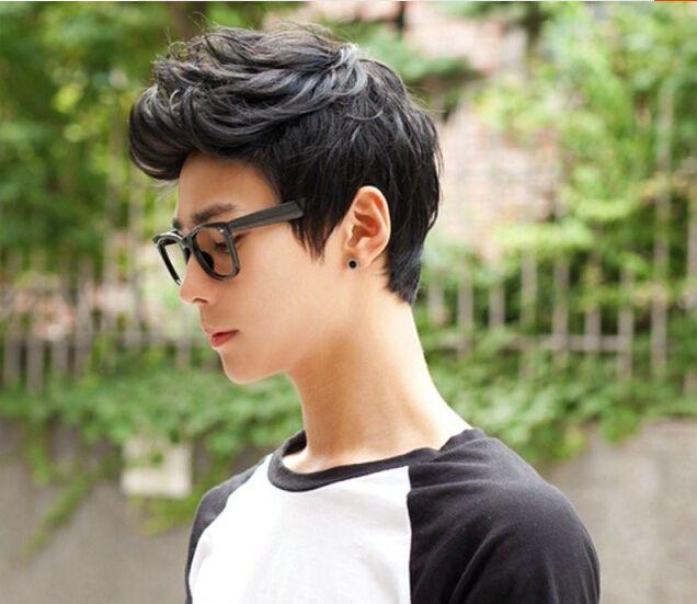 2018 New Wig Men Hair Style Korean Handsome Men Wig Short