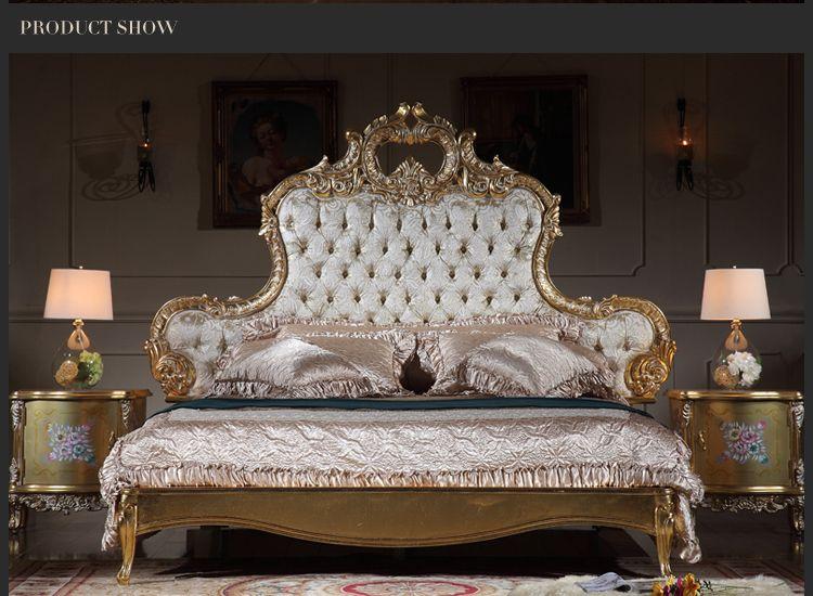 lit de luxe italien mobilier de chambre a coucher antique mobilier en bois massif