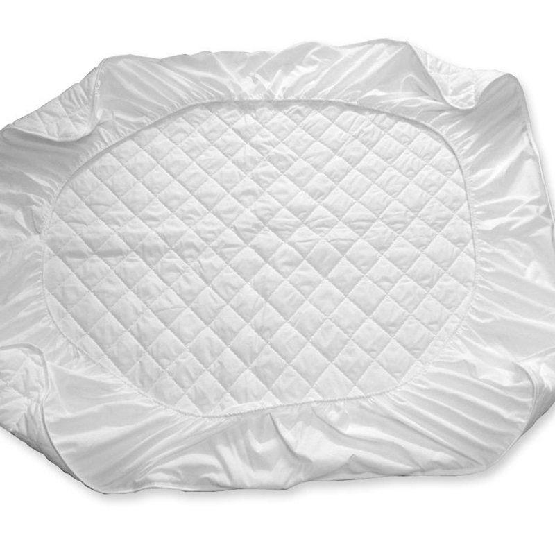 lit blanc coussin de protection matelasse protege matelas hotel housse de matelas en polyester tisse