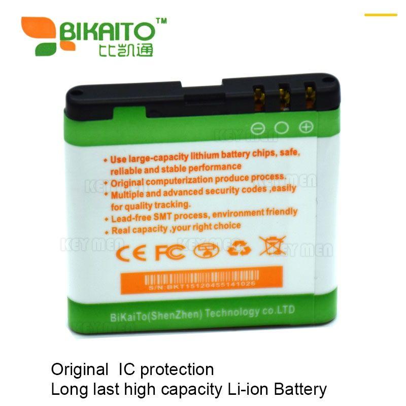 ᗔ bp 6mt celular 3 7v 1350mah bateria para nokian82 n81 e51 a452