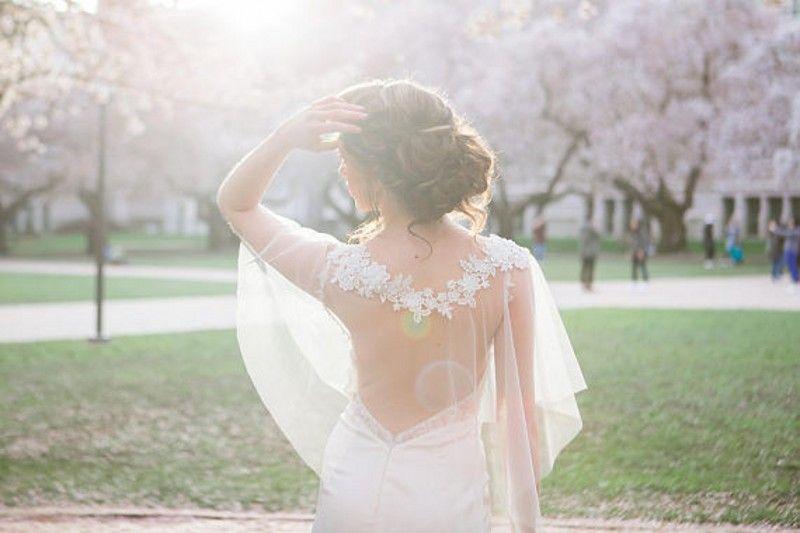 2019 2018 Modest Wedding Dresses Shrugs Bohemian Wedding