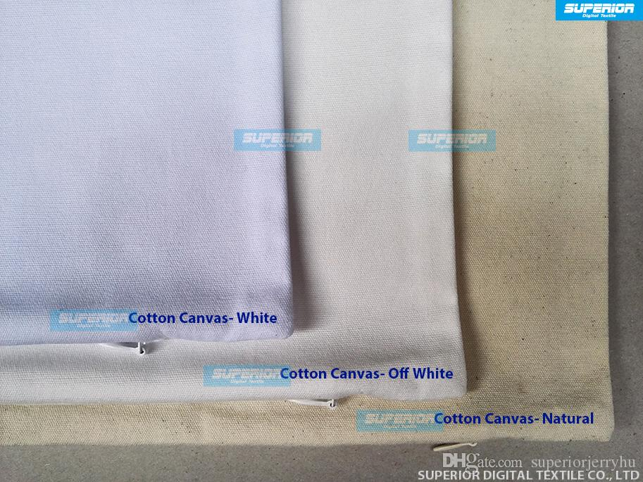Sell 8 Oz Canvas Pillow Case Plain Raw Cotton Blank Pillow