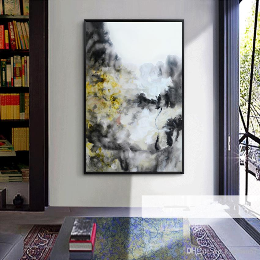 Modern Abstract Oil Painting On Canvas HD Print Wall Art