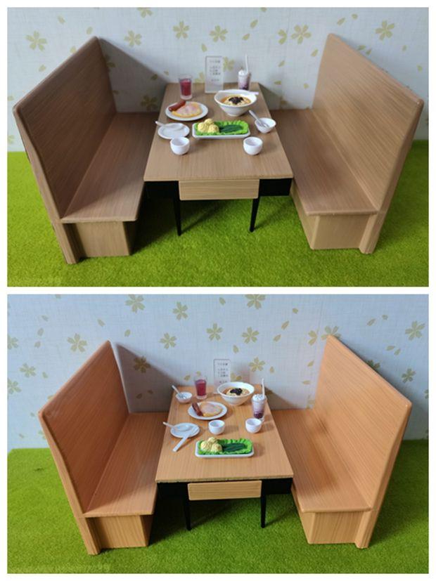 acheter livraison gratuite restaurant mini western tables et chaises 3 pieces modele de meubles jouets accessoires simulation maison de poupee mini