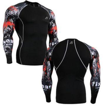 Life On Track Original Mens Shirts Compression Skin Tight Shirts Unique Designs Weightlifting Running Bodybuilding Tshirt