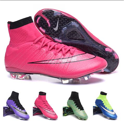 best website 7100d 2f358 Nike soccer cleats acc Athletic Outdoor Shoes Nike Mercurial Superfly FG- Blue Lagoon White Volt Black size 39-46