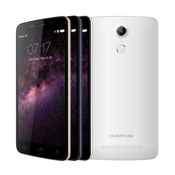 HOMTOM HT17 Android6.0 4G Smartphone 5.5Inch 1280*720 Screen MT6737QuadCore 13.0MP Camera Fingerprint ID
