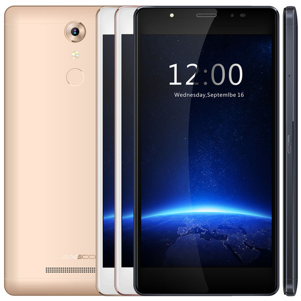 LEAGOO T1 Plus Android6.0 Cell Phone Quad Core 5.5Inch 1280*720 Screen 3G RAM 16G ROM Dual 8.0MP Camera 4G LTE