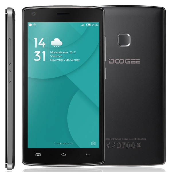 "4000mAH Doogee X5 MAX/X5 MAX PRO 5"" Android 6.0 Cell Phones MTK6737 Quad Core RAM 2GB ROM 16GB 8.0MP 4G Lte Fingerprint Mobile Phones"