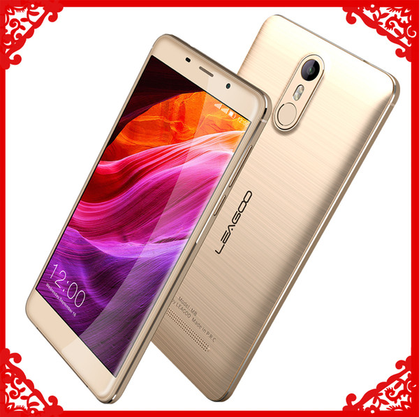 Leagoo M8 3G Cell Phone 5.7 Inch fingerprint Quad Core 2G RAM 16G ROM 13.0MP Camera free shipping