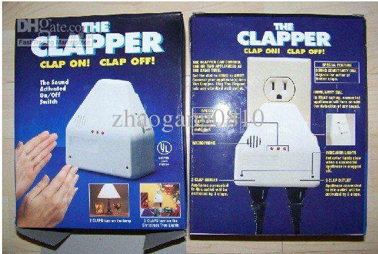 Hot Selling!!! The Clapper Voice Operated Switch Clap On