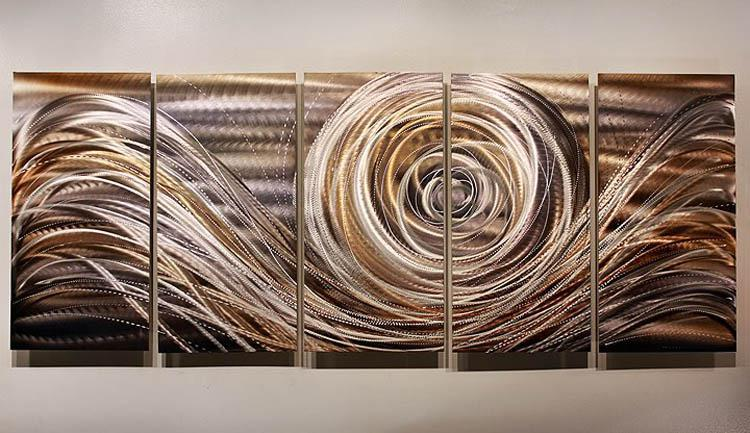 Oil Painting Art Metal Painting Wall Home Decor Metal