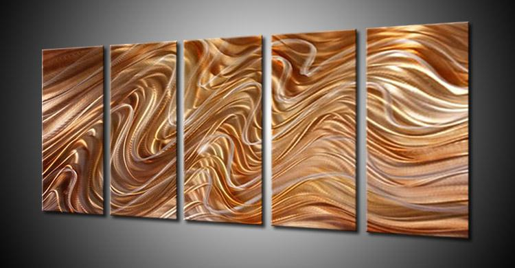 2019 Metal Wall Art Abstract Contemporary Sculpture Home