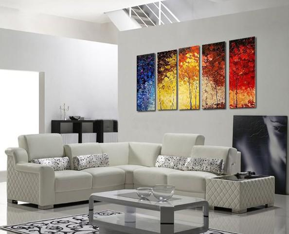 2019 Abstract Oil Painting Canvas Huge Modern Decoration