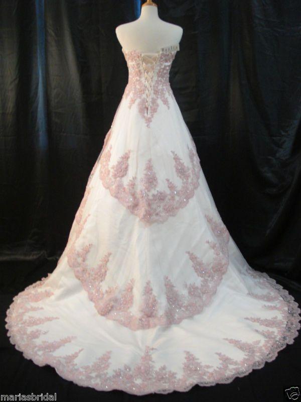 Wedding Dress Light Pink Mauve Classic Wedding Dresses
