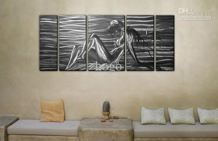 2019 Metal Wall Art Abstract Modern Sculpture Painting