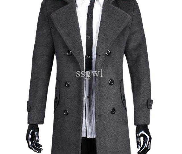 2019 2016 Fashion Men Cashmere Wool Coat Jackets Outerwear Winter Windproof Wool Coats Plus Size Slim Fit Thickening Male Coat From Ssgwl 40 61 Dhgate