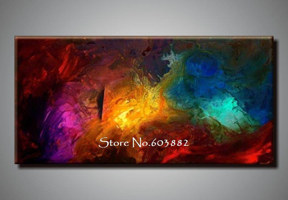 2019 100% Handpainted Large Canvas Wall Art High Quality
