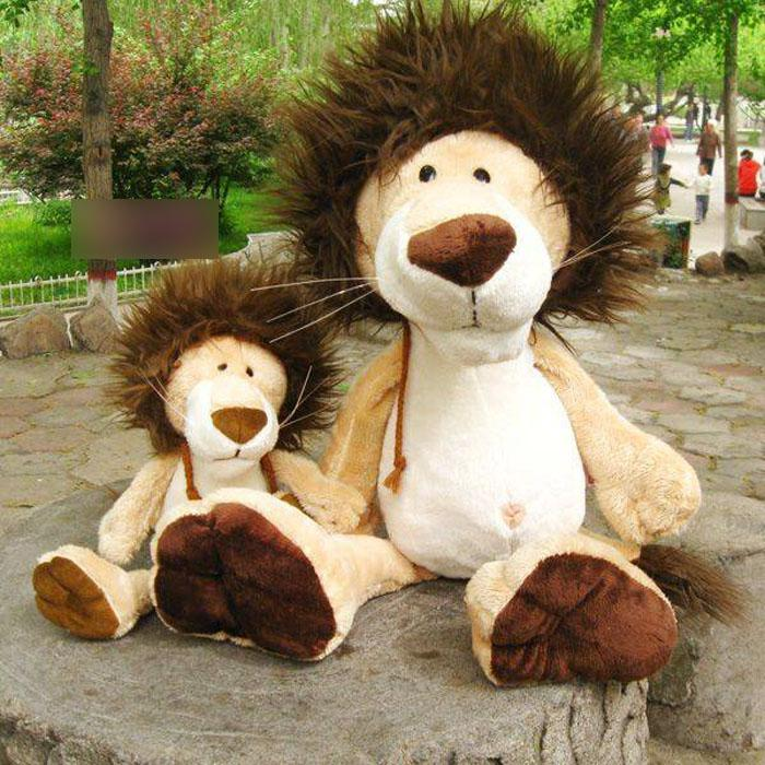 With Removable Hair Hat Stuffed Animals Toy Cartoon Plush
