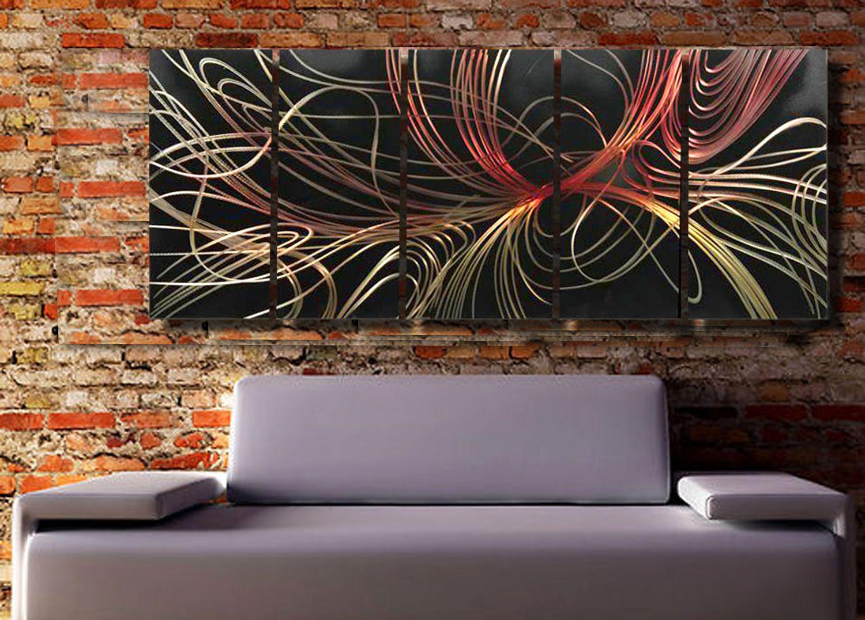 Modern Abstract Painting,metal Wall Art Sculpture,wall