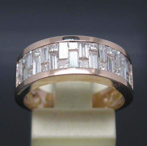 2019 SOLID 14Kt ROSE GOLD NATURAL STUNNING PRINCESS