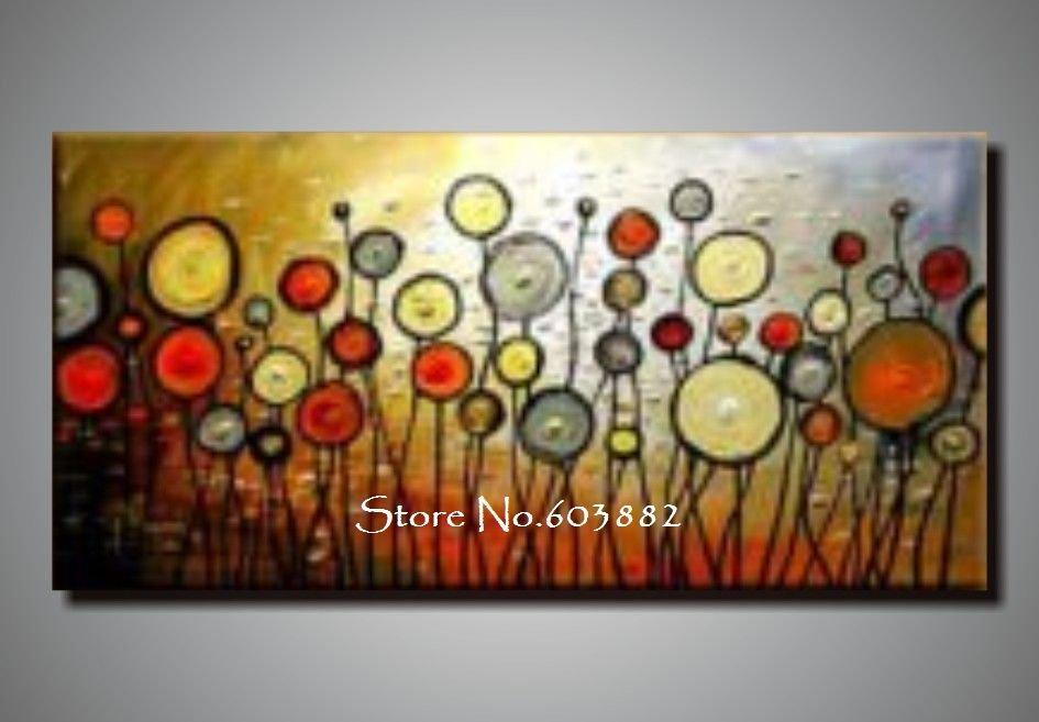 2018 Discount 100% Handmade Large Canvas Wall Art Abstract