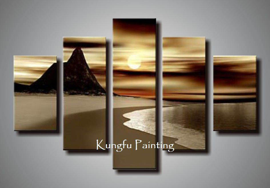 2018 Natural Natural Scenery 100% Hand Painted Discount