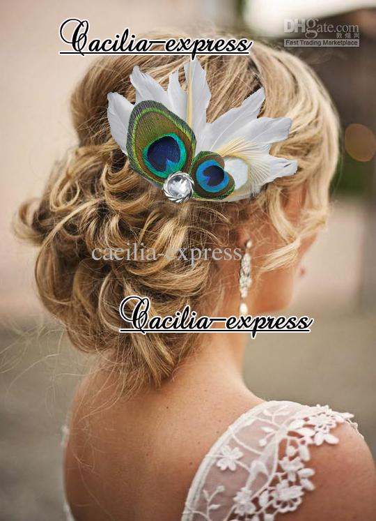 heart shaped peacock feather headband feather bridal hair piece women s fashion hair accessory rooster feathers rooster feathers for sale from cacilia