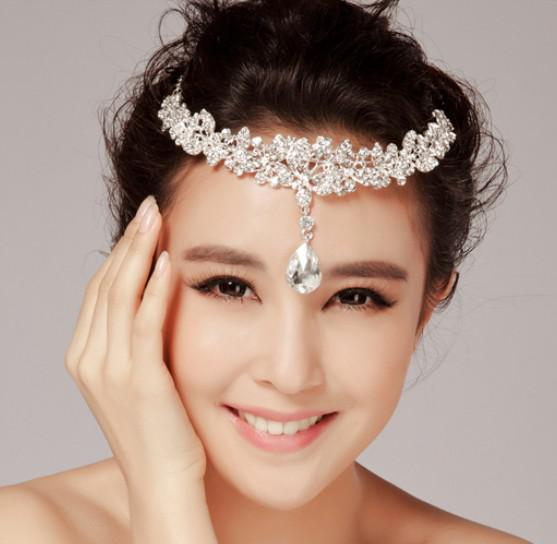 Elegant Style Wedding Party Bridal Jewelry Crystal Floral