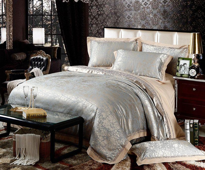 Luxury Revival Vintage Flower Bedding Set Noble King
