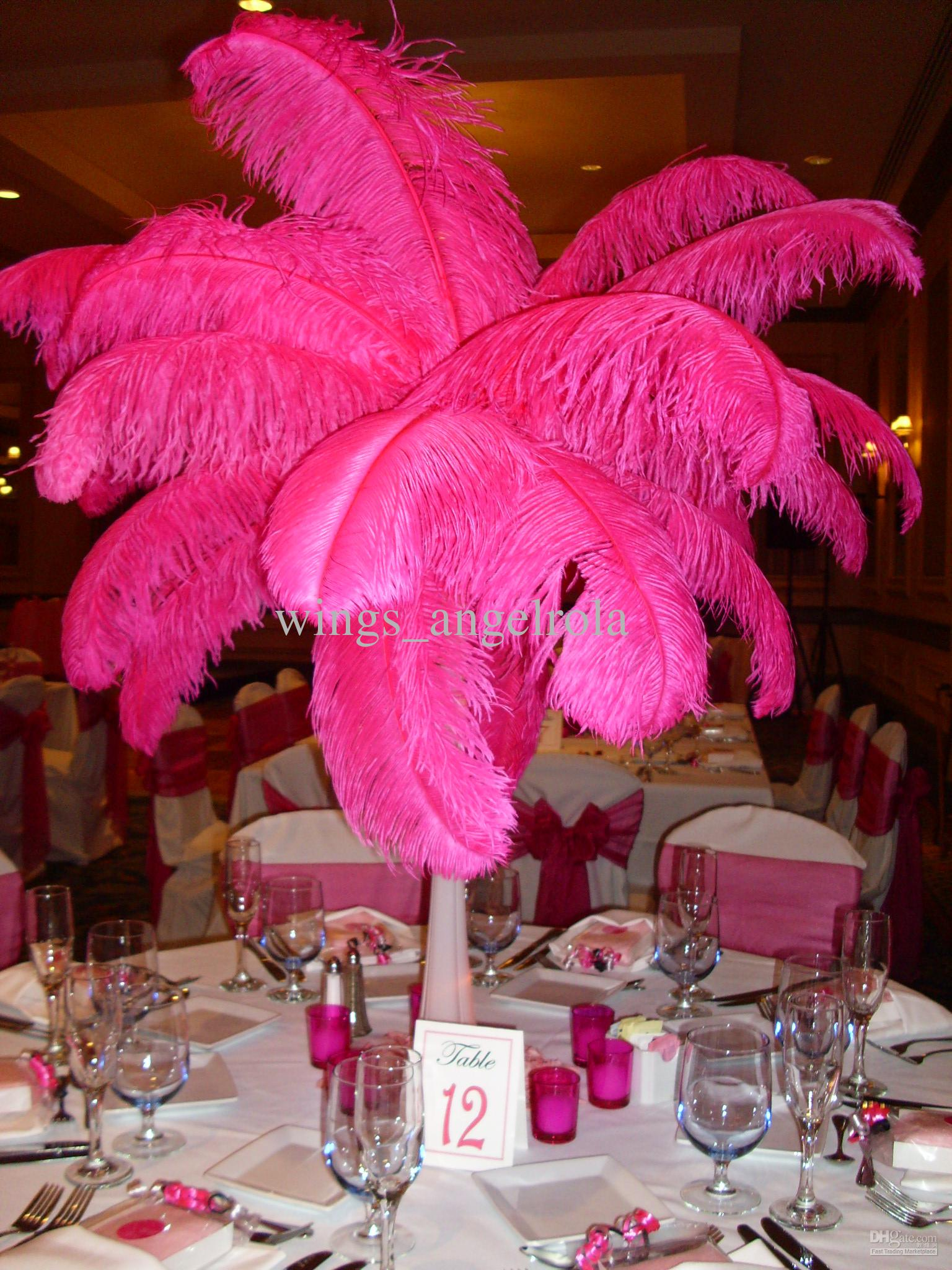 Ostrich Feather 14 16 Wedding Party Decoration
