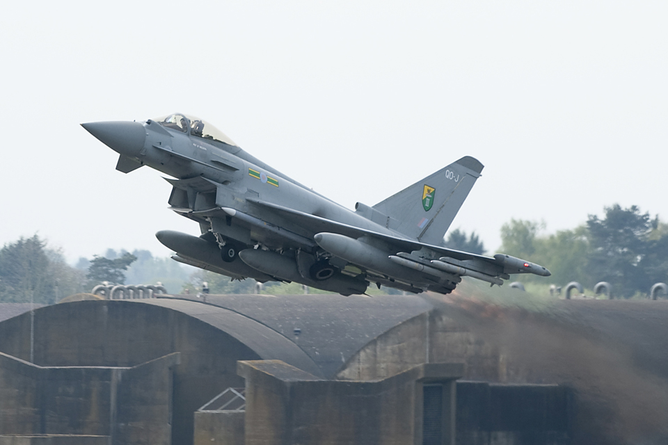 Image result for eurofighter typhoons RAF in Romania