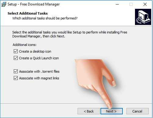 شرح تثبيت برنامج فري داونلود مانجر للكمبيوتر عربي 2017 Free Download Manager (5)