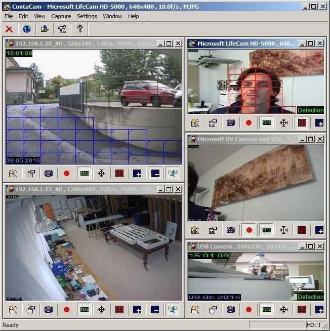 برنامج كاميرا المراقبه الرهيب ContaCam