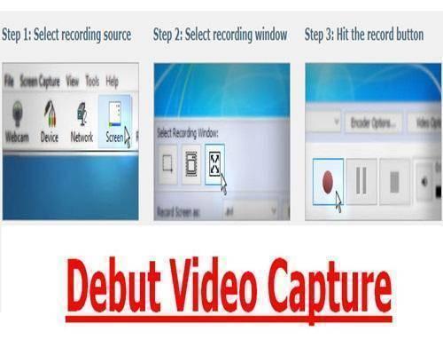 تحميل برنامج Debut Video Capture لتصوير شاشة الكمبيوتر
