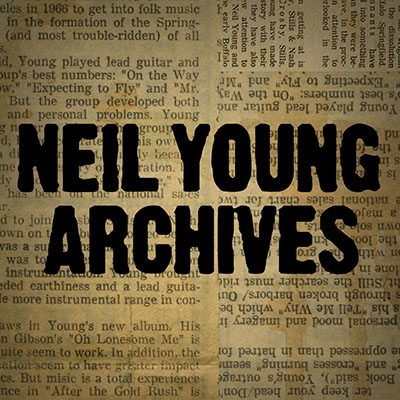 Neil Young Archives Artwork