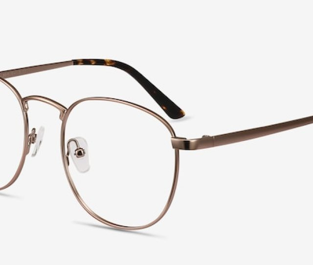 59c1a8004557 St Michel Bronze Metal Eyeglframes From Eyebuydirect Front View ...