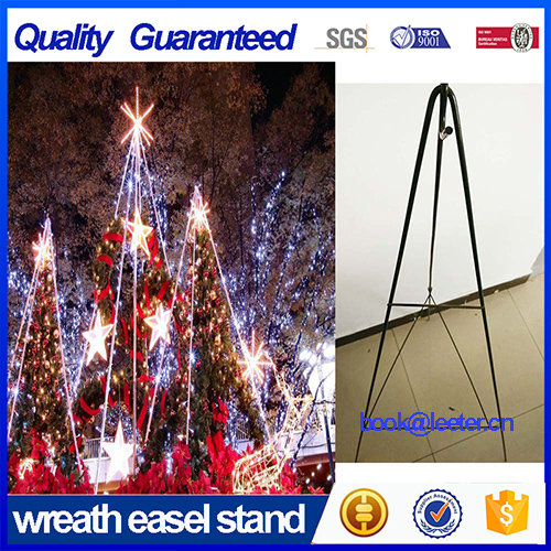 Florist Wire Folding Wreath Stand Easel From Hebei Leeter